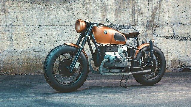 moto orange bmx
